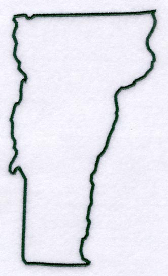 Vermont Outline Map With Capital Picture Pictures To Pin