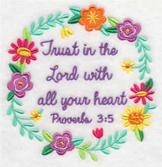machine embroidery bible verses