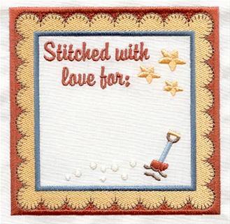 Embroidery Quilt Label Designs : Machine Embroidery Designs at Embroidery Library! - Labels