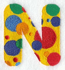 N Alphabet Design Machine Embroidery Designs at Embroidery Library! -