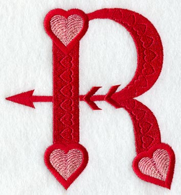 R Alphabet Design Machine Embroidery Designs at Embroidery Library! -