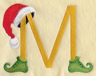 Machine Embroidery Des...M Design Alphabets