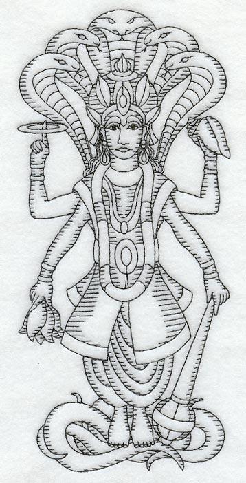 lord vishnu coloring pages - photo#7