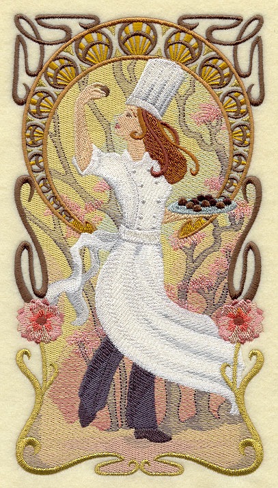 Chocolate Tasting Embroidery Library