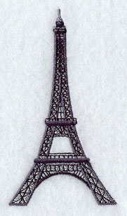 eiffel tower applique on Etsy, a global handmade and