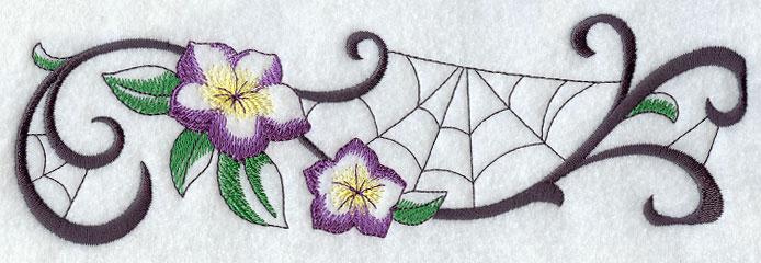 Unusual machine embroidery designs native home garden design