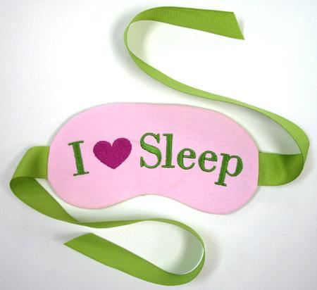 in the hoop sleep masks