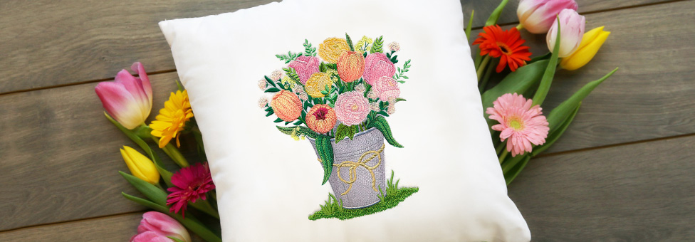 Embroidery Library - Spring Ahead Sale
