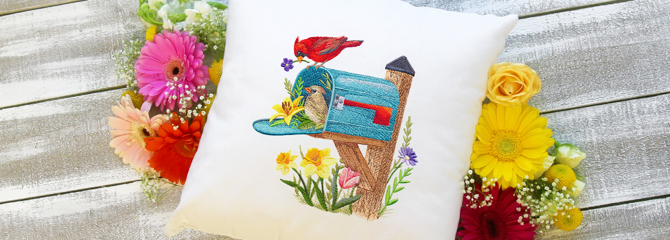 Embroidery Library - April Showers Sale!