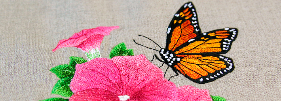 Embroidery Library - Butterfly Sale