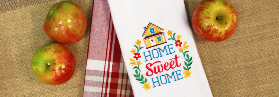 Embroidery Library - Home Sweet Home Sale