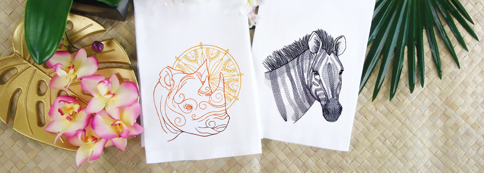 Embroidery Library - Wild Side Sale!