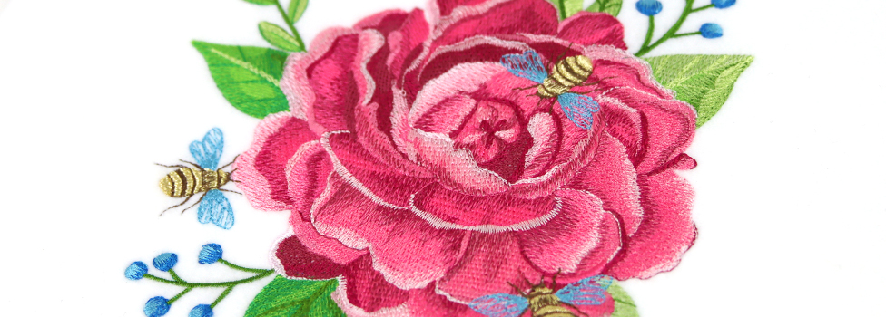 Embroidery Library - Garden Beauties Sale!