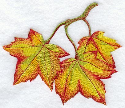 Painting Fall Leaves in Watercolor