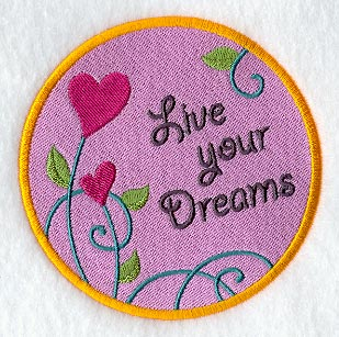 Machine Embroidery Designs At Library Live Your Dreams