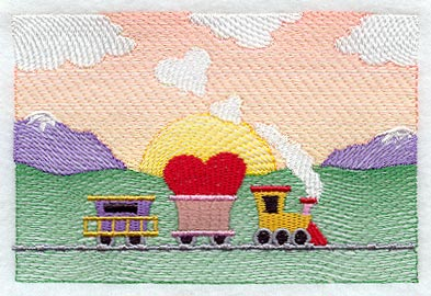 machine embroidery designs at embroidery library new this week love train 393x270