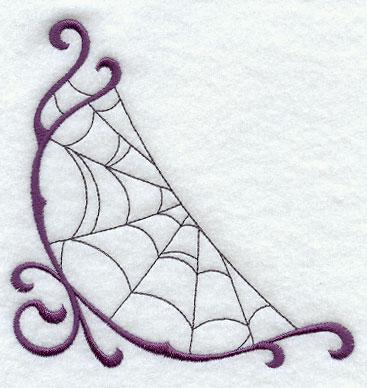 Corner spider web design - photo#19