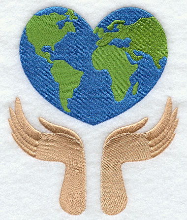 Earth Day Machine Embroidery Designs