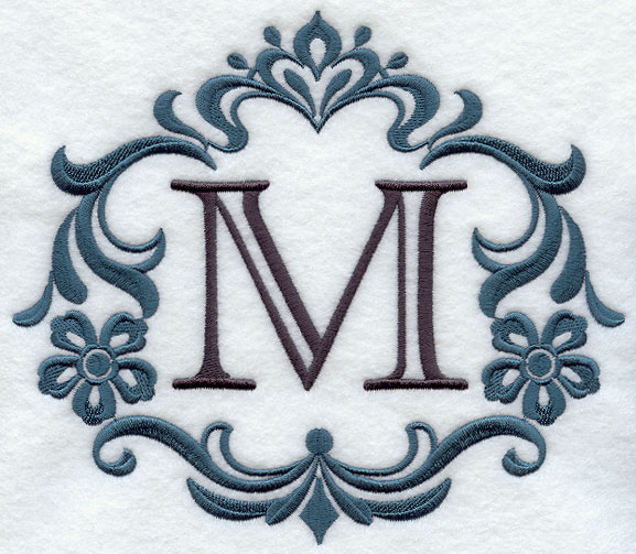 Monogram Kitchen Towels Machine Embroidery Designs at Embroidery Library ...