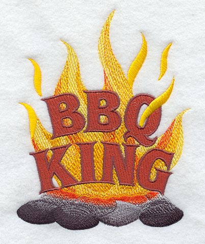 Machine Embroidery Designs Library Bbq King