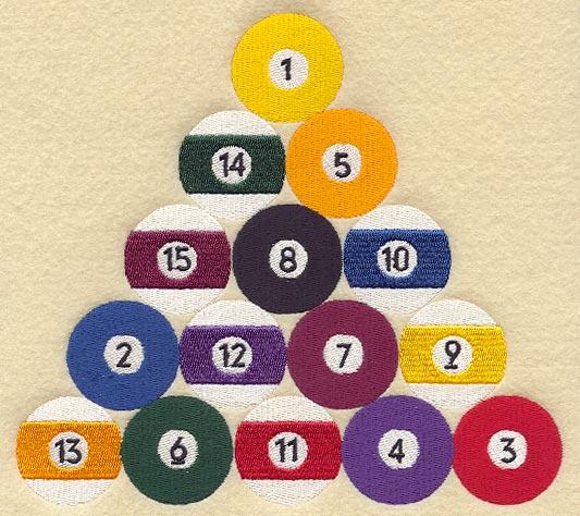 Snooker Ball Arrangement
