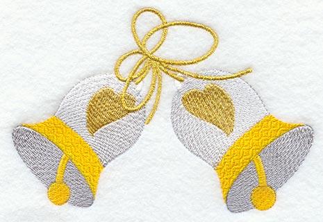 Wedding Bells w Hearts