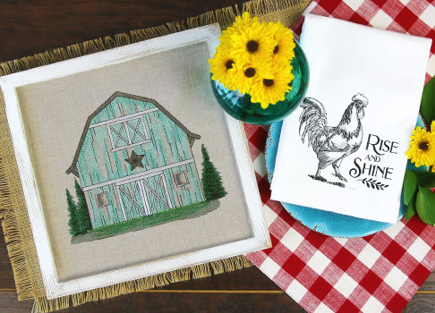 Embroidery Library - Farm Life