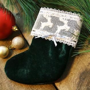 Prancing Reindeer Lace