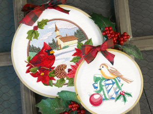 Birds of Christmas Designs