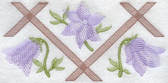 Machine embroidery designs at embroidery library embroidery library harebell and trellis soft shadow trio dt1010fo