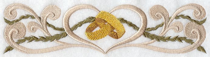 Free Machine Embroidery Designs For Weddings