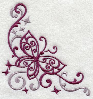 Swirl Machine Embroidery Designs