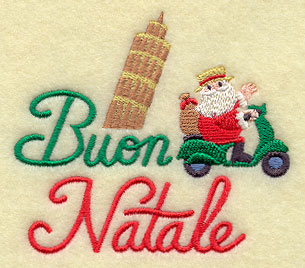 Merry Christmas In Italian.Machine Embroidery Designs At Embroidery Library