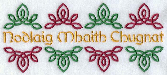 luck o the irish merry christmas nodlaig mhaith chugnat - Merry Christmas In Gaelic