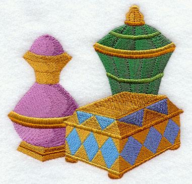 wise men stocking bottom gold frankincense myrrh - Gold Frankincense And Myrrh Christmas Gifts