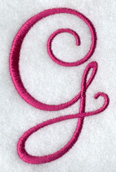 Fancy Flourish Capital Letter G