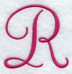 Machine embroidery designs at embroidery library embroidery library fancy flourish capital letter r 3 inch thecheapjerseys Image collections