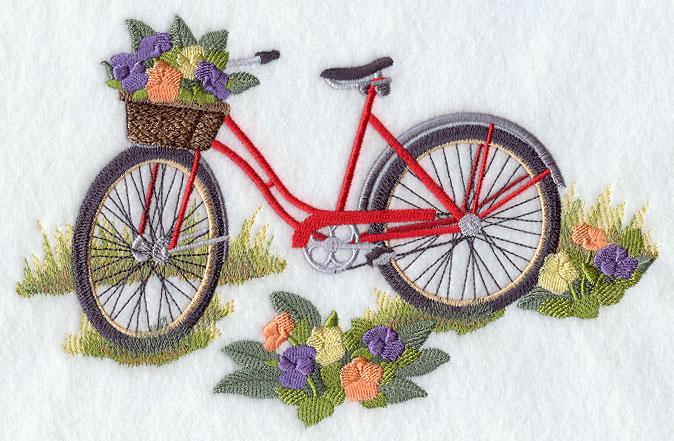 Free Flower Basket Embroidery Designs Flowers Healthy