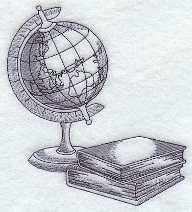 Днем, открытка на день учителя рисовать глобус