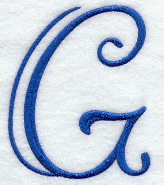 Formal Affair Capital Letter G