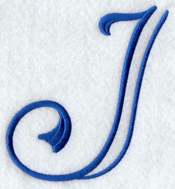 Formal Affair Capital Letter J