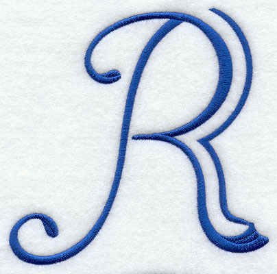 Formal Affair Capital Letter R