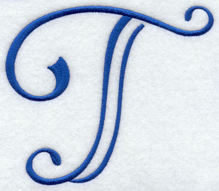 Formal Affair Capital Letter T