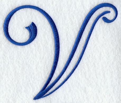 Formal Affair Capital Letter V
