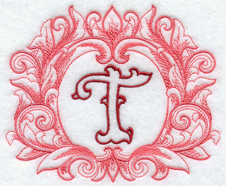 Grand Flourish Capital Letter T