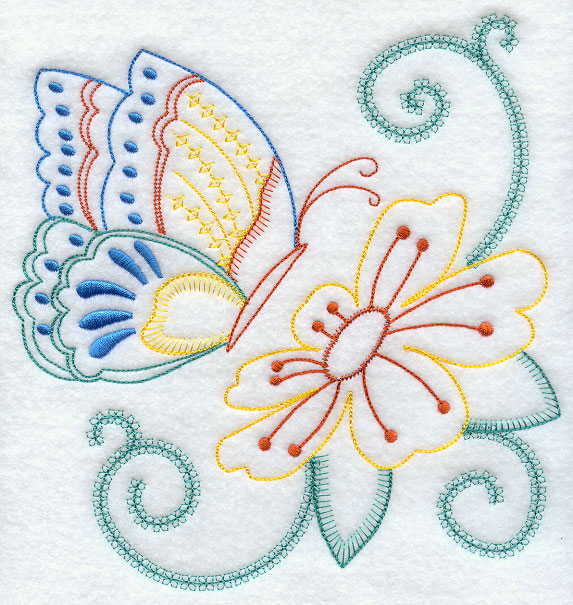 Machine Embroidery Designs For Bed Sheets