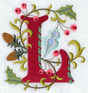Jacobean Christmas Letter L