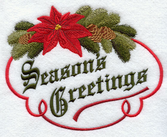 Machine embroidery designs at embroidery library embroidery library classic seasons greetings m4hsunfo