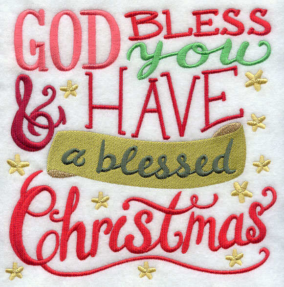 god bless you and have a blessed christmas - Have A Blessed Christmas