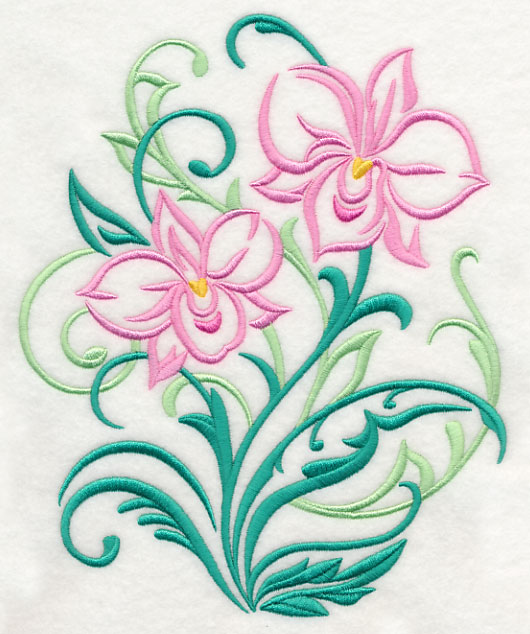 Machine embroidery designs at embroidery library embroidery library cooktown orchid filigree mightylinksfo